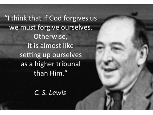 Forgive ourselves