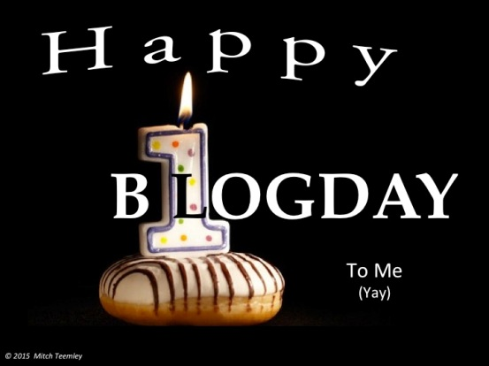 Happy Blogday
