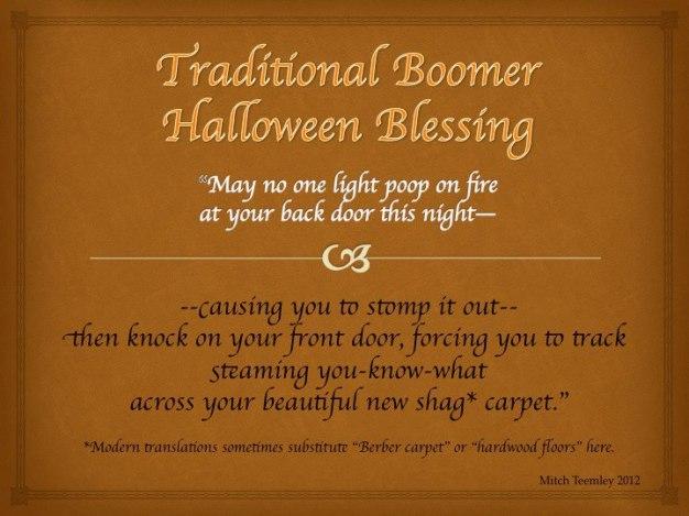 Boomer Halloween