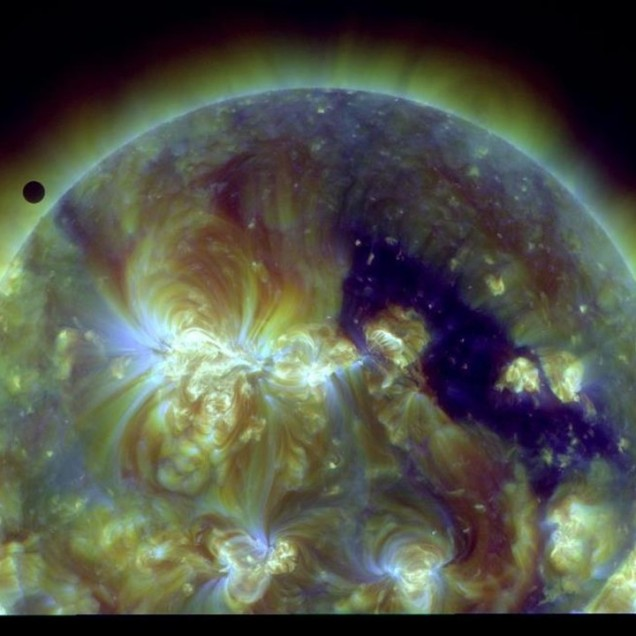 Venus in Transit (NASA photo)