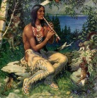 native-american-playing-flu
