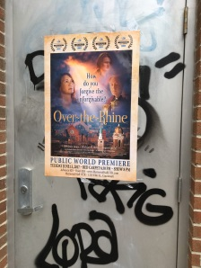 Event poster in Over-the-Rhine, from which the film takes its title