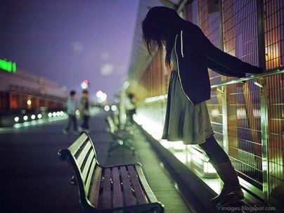 Alone-sad-girl-on-street-angry