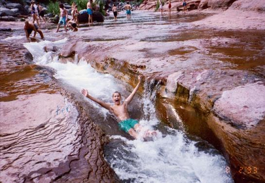 1993-08-02 Ben Slide Rock State Park AZ 2