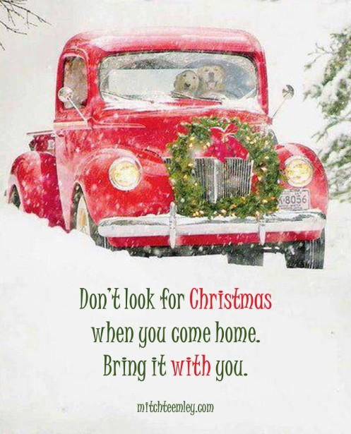 Don't Look for Christmas