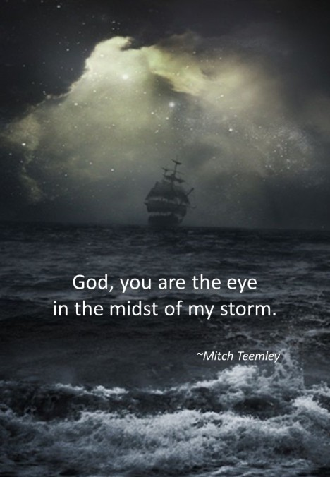 You are the eye