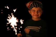 sparkler-and-boy
