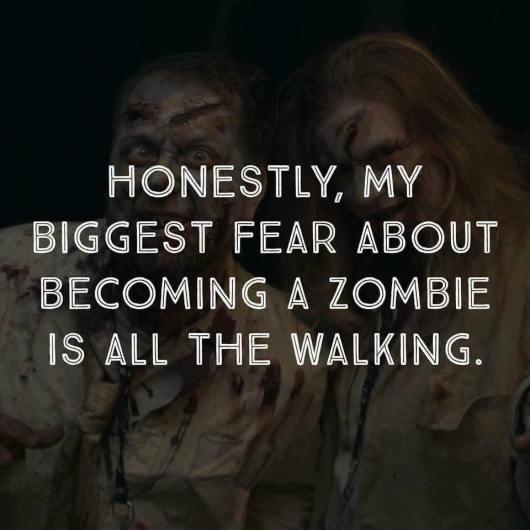 Halloween - lazy zombie