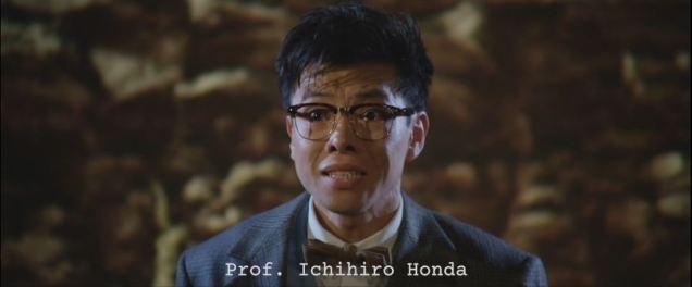 Dinosaur expert (and hero) Prof. Ichihiro Honda