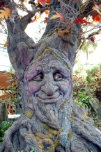"""Humans! Glad I'm a tree!"""