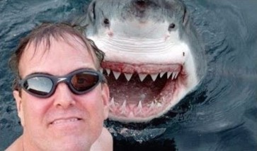 Selfie with a friend - or not