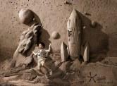 Dirt sculpture