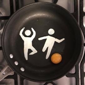 Fried Egg Art 2