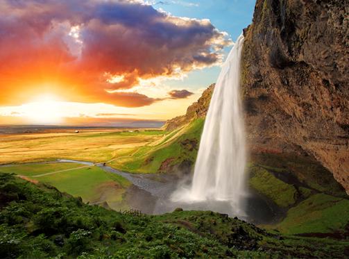 Seljanlandsfoss, Iceland
