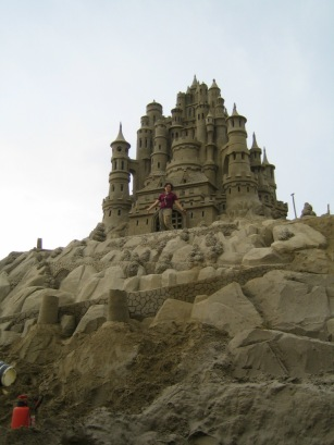 Sand Castle by Sue McGraw