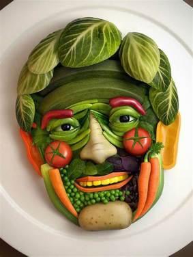 A healthy face