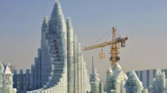 The largest ice structure ever built