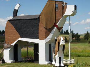 Dog barn in Idaho