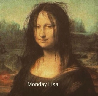 Mona Lisa's Smile (pre-hair correction)