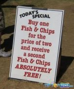 Special offer for gullible people only!