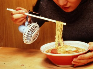 Chopstick Noodle Cooling Fan.