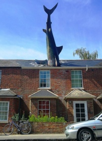 Headington Shark, Oxford, UK