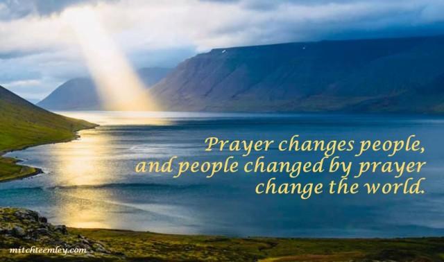 Prayer Changes People