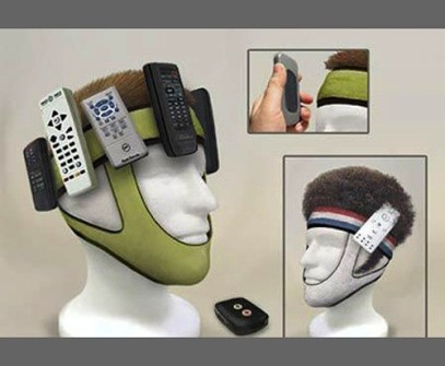 Remote Control Mask. Because...um...