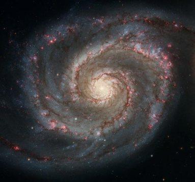 Spiral Whirlpool Galaxy