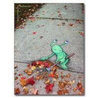 Sweeping autumn away