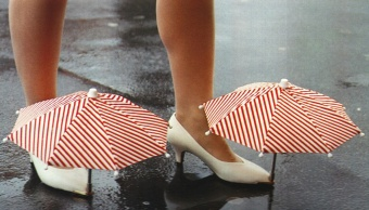 The Shoe Umbrella.
