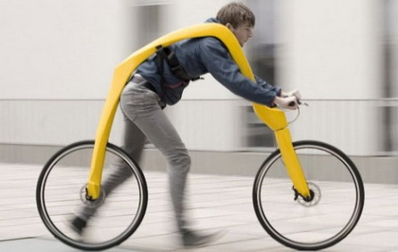 The Walking Bike! Because...um...