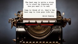 Writing, life