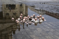 Cement Eclipses, miniatures by Isaac Cordal (London)