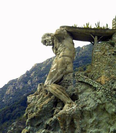 Giant of Monterosso, La Spezia, Italy