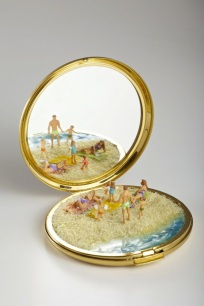Miniature beach scene by Kendal Murray