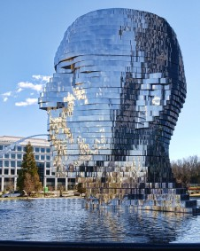 Metalmorphosis by David Cerny (Charlotte, NC)