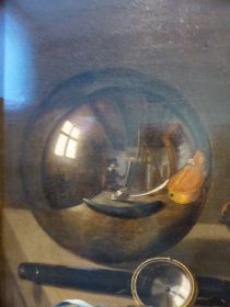 Vanitas with Glass Ball (detail) by Pieter Claesz (1625)