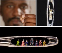 Extreme miniatures by Willard Wigan