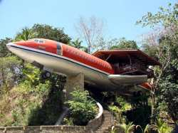 Boeing 727 Tree House, Costa Rica
