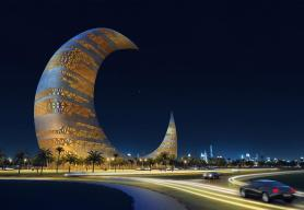 Crescent Moon Tower, Dubai (slated to be built)