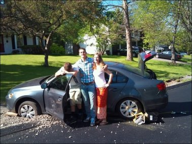 Family-With-Funny-Accident-Car