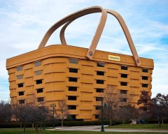 Longaberger Basket building--for sale