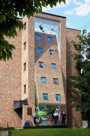 Tilt-a-building