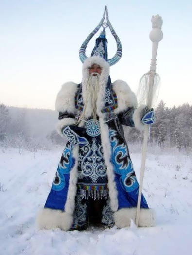 Russia-Yakut (ethnic Turk) St. Nicholas