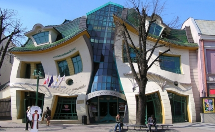 The Crooked-House, Sopot, Poland