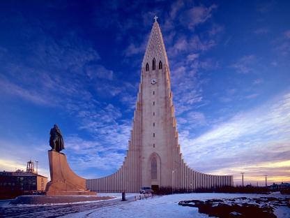 Reykjavík Cathedral, Iceland