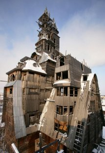 Wooden Gagster House, Archangelsk, Russia