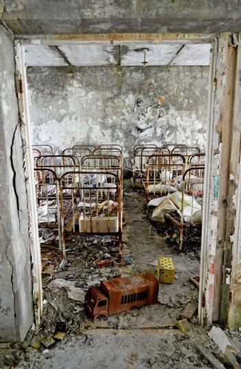 Children's nursery, Chernobyl (Pripyat 2011)