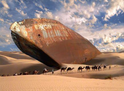 Ships of the desert, Saudi Arabia